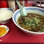 蘭 - ラーメン500円+ライス150円