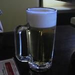 下町の空 - 生ビール中