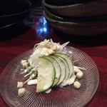 猿のしっぽ - ★6水ナスのシーザーサラダ