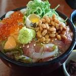 53954270 - 海鮮ネバネバ丼 1780円