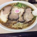 国味ラーメン - チャーチューワンタンメン ヽ(゚◇゚ )ノ