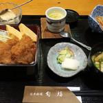 日本料理 旬坊 - たれかつ重膳