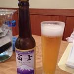イゾラーナ - ドリンク写真:富士献上ビール 650円