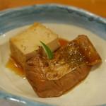 とゝや魚長 - 平目 豆腐