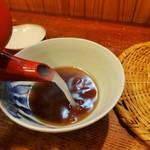 土日庵 - 蕎麦湯も美味し!