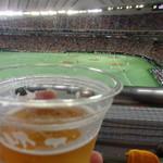 53959628 - ビール飲みながら観戦は最高(≧∇≦)