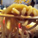 馬車道ヌードル トマトスタジオ - 麺はかなり太いですがもちもちで美味しかったですよ