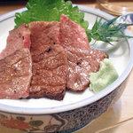 大須亭 - 和牛たたき刺し