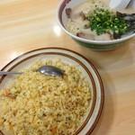 福龍ラーメン - 料理写真:ガッツり食べます( ̄+ー ̄)