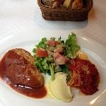 パタティ パタタ - 本日のプレートランチ・肉料理