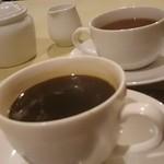 ラ タベルネッタ アッラ チヴィテッリーナ - 食後のホットコーヒー・紅茶・緑茶