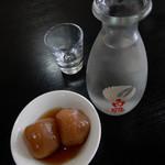 盧山 - 日本酒(冷)とお通し