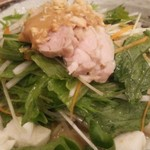 中華飯店 天津餃子房 - 野菜たっぷり冷麺