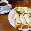 みずさわ珈琲店 - 料理写真:こインディアンチーズトース