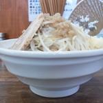 爆麺亭 - 料理写真:爆麺+野菜ニンニク