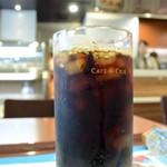 カフェドクリエ - アイスコーヒーをオーダー