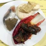 イルチッチォーネ - 前菜5種盛960円