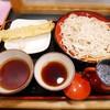 小諸そば  - 料理写真:穴子天せいろ¥550
