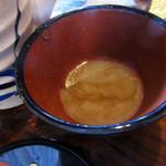 蕎麦食処 六根亭 - 蕎麦湯はどろっと系