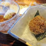 蕎麦食処 六根亭 - 5.蕎麦の実一口炊き込みご飯(そば昼膳)
