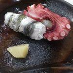 酒菜やまざき - 新子と蛸
