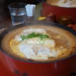 53969519 - (2016/6月)豆腐かつ煮鍋