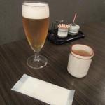 おざわ - グラス生ビール(2016/7)