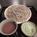 おざわ - 「胡麻汁そば」を「粗挽き」で(2016/7)