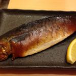 スモークビアファクトリー - 燻製焼き鯖
