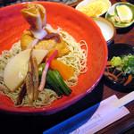 蕎麦食処 六根亭 - 巾着大根蕎麦 1350円