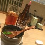 からり - 神楽坂からり  ホッピーと鶏スープ