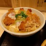 ソバキチ - かつ丼