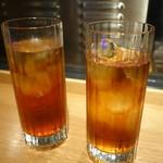 六本木 かき心 - ☆烏龍茶で乾杯です☆