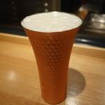 六本木 かき心 - ☆生ビールはよく冷えてます☆