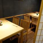 六本木 かき心 - ☆テーブル席(^o^)丿☆