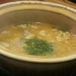 銀の龍 - サムゲタン風雑炊¥980