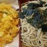 Sobadokorohashimoto - 蕎麦は大盛りとなっております