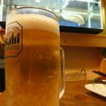 銀の龍 - アロワナとビール¥500