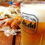 山小屋 - ドリンク写真:生ビール