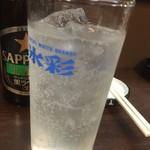 53976616 - 160713北海道 金富士 氷彩レモンサワー