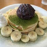 パンケーキハウス ヤッケブース - あんこ&バナナ