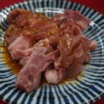 焼肉 たつみ - べんまく ※味見用にちょこっと出してくれました(^_^)