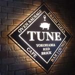 TUNE - お店の看板