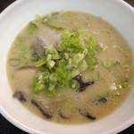 自家製麺 製麺王 - とんこつラーメン