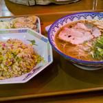 元祖赤のれん節ちゃんラーメン - ラーメン定食