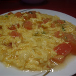 台湾料理 長楽 - トマトと卵炒め¥780-