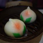 台湾料理 長楽 - 桃饅頭¥380-