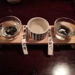 たかじ - 日本酒呑み比べ