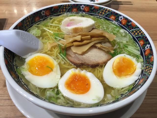 あじさい 新千歳空港店 - 味彩塩拉麺