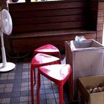 ケーニッヒ - お店備えつけの椅子